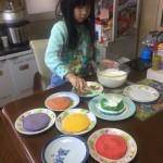 レインボーケーキ作り7