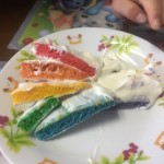 レインボーケーキ作り10